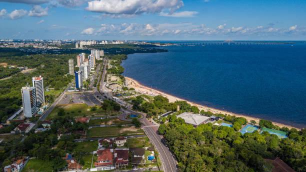 Ponta Negra-Manaus-Amazonas-Brazil Ponta Negra - Manaus - Amazonas - Brasil manaus stock pictures, royalty-free photos & images
