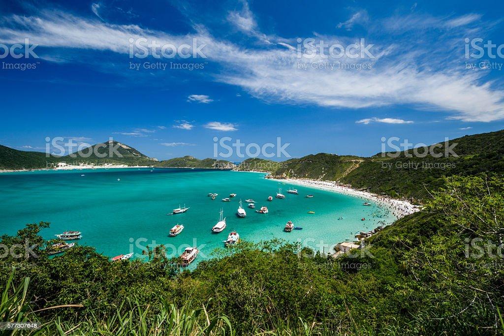 Pontal de Atalaia, Arraial do Cabo, Rio de Janeiro, Brazil - foto de acervo