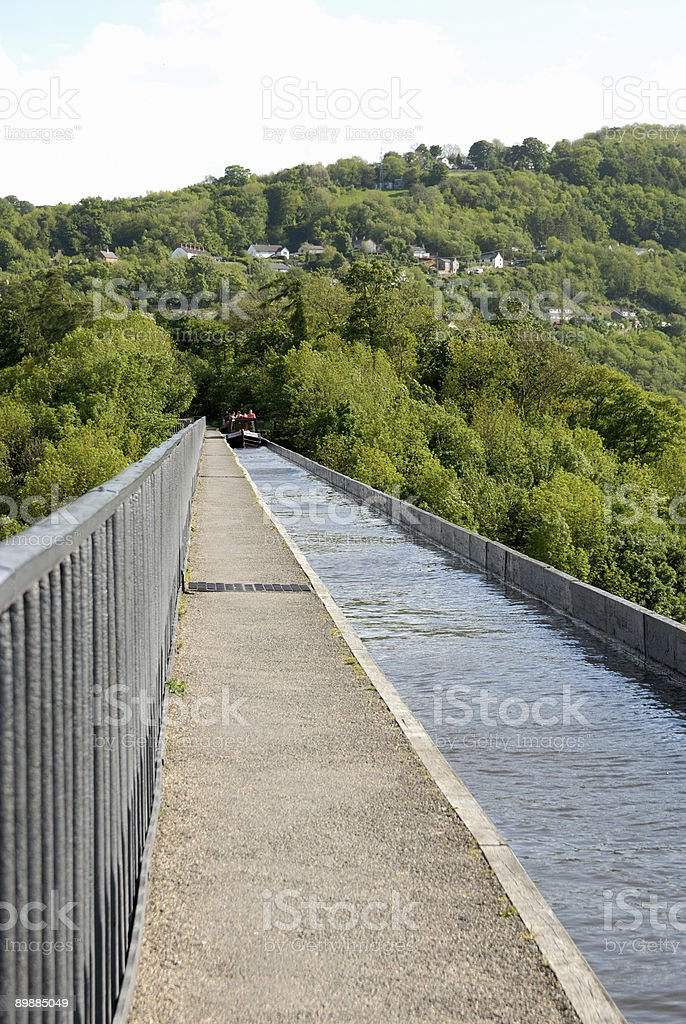 Pontcysyllte Aqueduct royalty-free stock photo