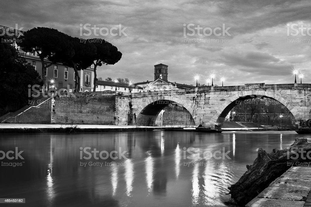 Ponte Cestio stock photo