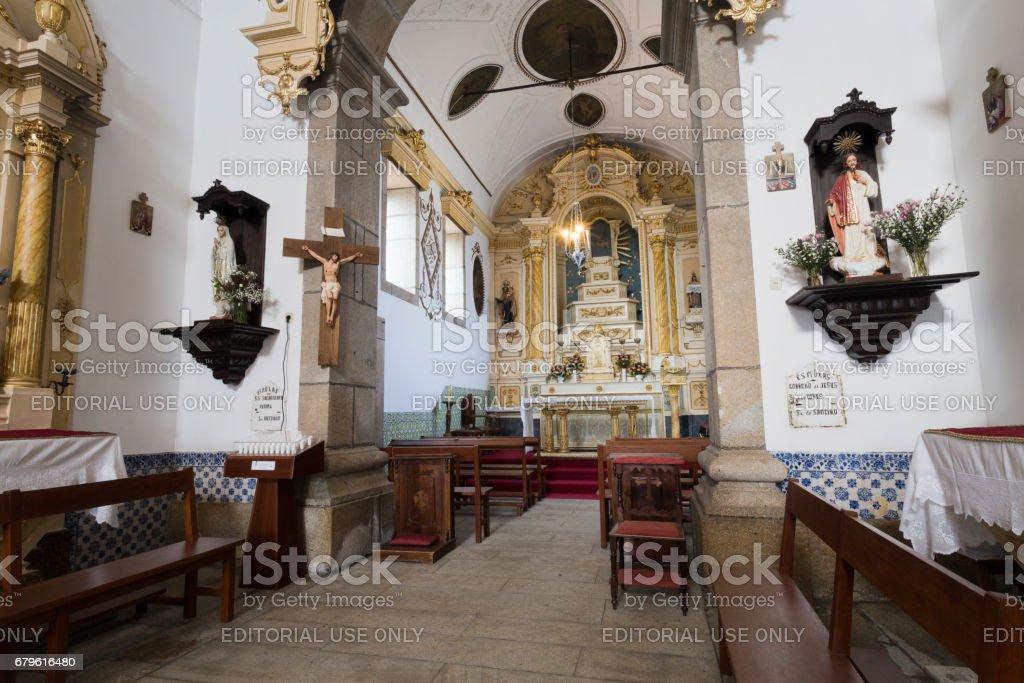 Ponte de Lima – Church of Santo Antonio stock photo