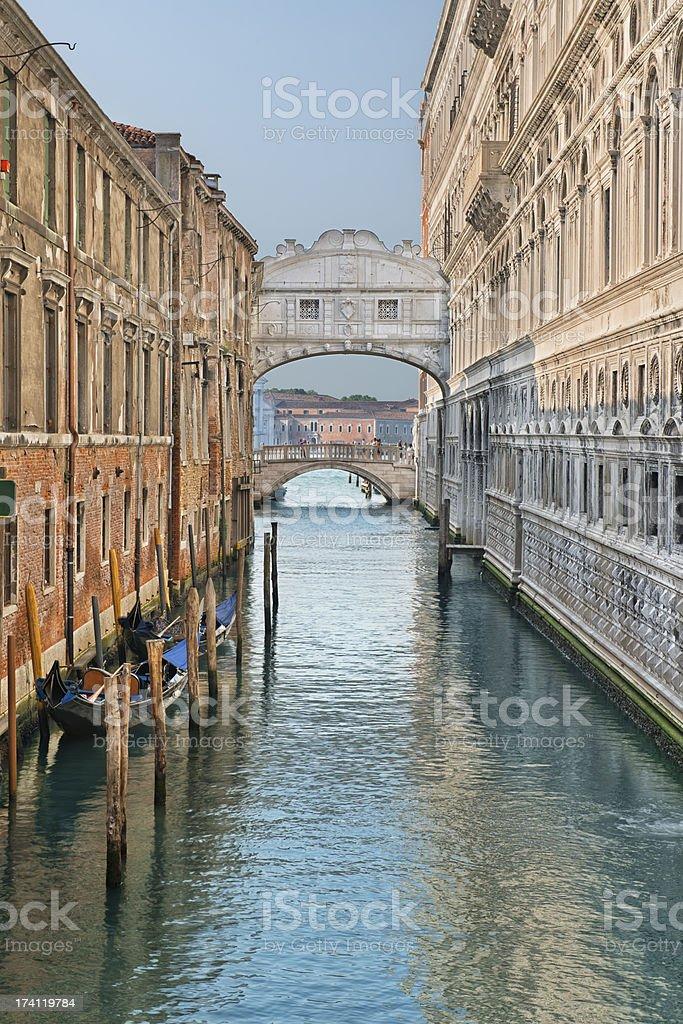 Ponte Dei Sospiri stock photo