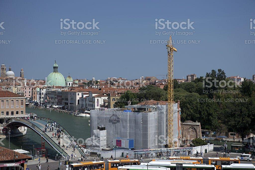 ponte della costituzione royalty-free stock photo