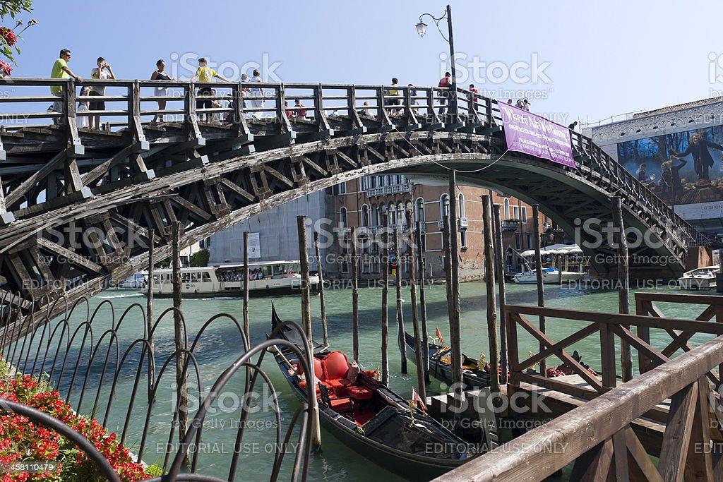 Ponte dell'Accademia royalty-free stock photo