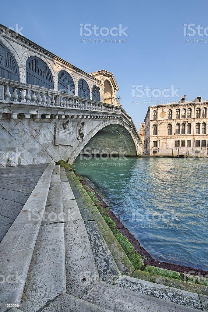 Ponte di Rialto (Venice) royalty-free stock photo