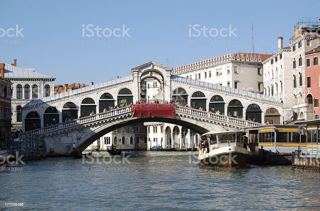 Ponte di Rialto - Venice, Italy royalty-free stock photo