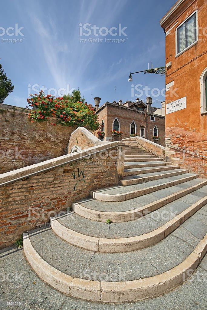 Ponte Molin De La Racheta (Venezia) royalty-free stock photo