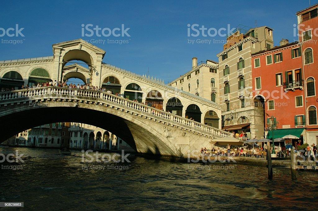 Ponte Rialto, Grand Canal, Venice, Italy. royalty-free stock photo