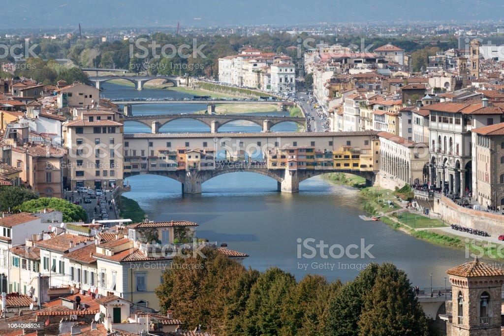 Ponte Vecchio, Florenz, Italien – Foto
