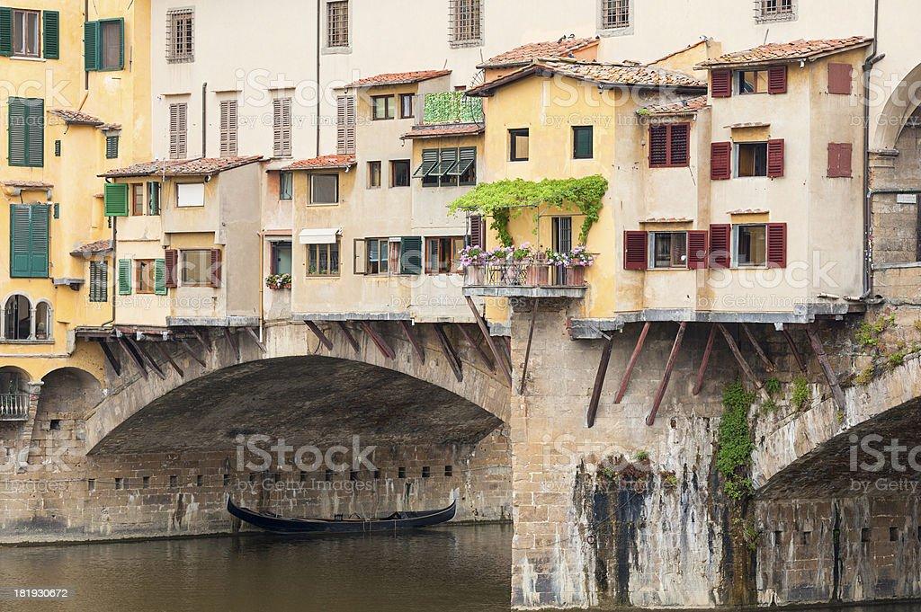 Ponte Vecchio Florence Italy royalty-free stock photo