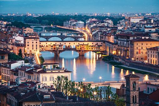 Ponte Vecchio In The Morning