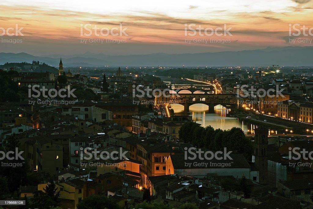 Ponte Vechio foto de stock libre de derechos