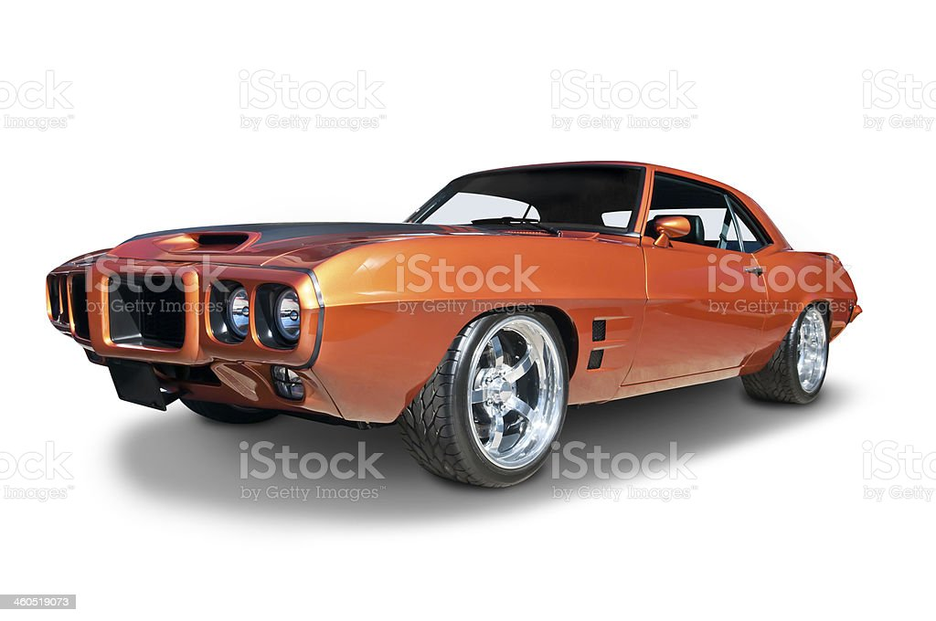 Pontiac Firebird 1969 royalty-free stock photo