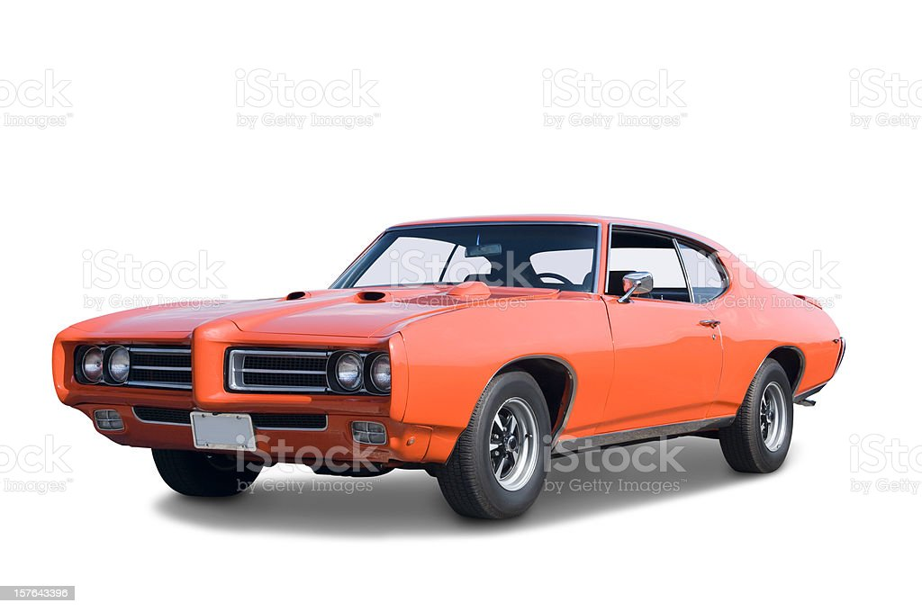 Pontiac GTO 1969 stock photo