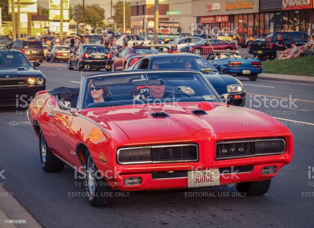 Foto De Pontiac Gto 1969 Conversivel Carro Do Musculo E Mais Fotos De Stock De 1969 Istock