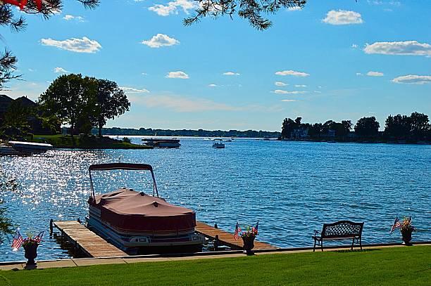 Bateau sur le lac - Photo