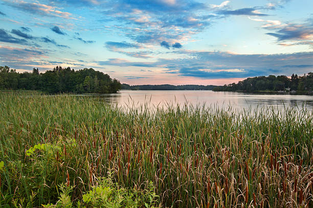 pontoosuc lake - massachusetts stockfoto's en -beelden