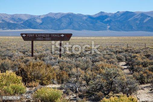 istock Pony Express Trail 522382629