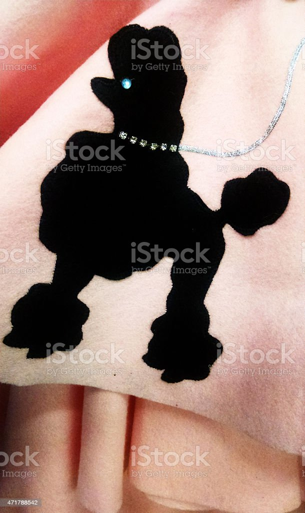 Poodle Skirt stock photo