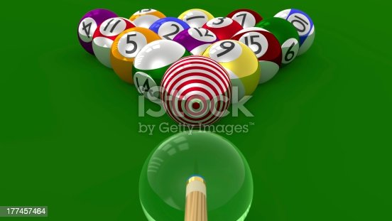istock TARGET Pool - 8 Ball Focused as the Ultimate Goal 177457464
