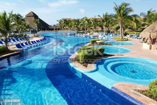 istock Pool and hot tub 139693858