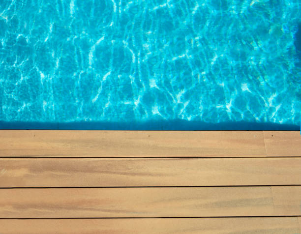 pool and wooden - standing water stock pictures, royalty-free photos & images