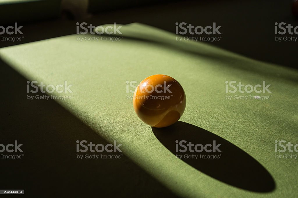 Pool ball on the table - Royalty-free Arranging Stock Photo