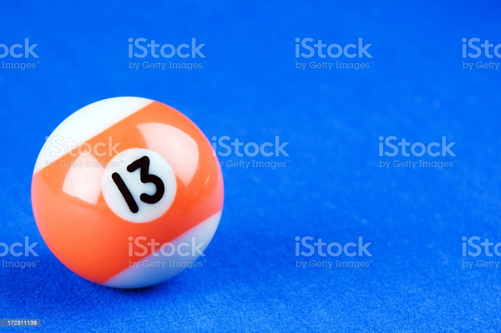 Pool Ball royalty-free stock photo