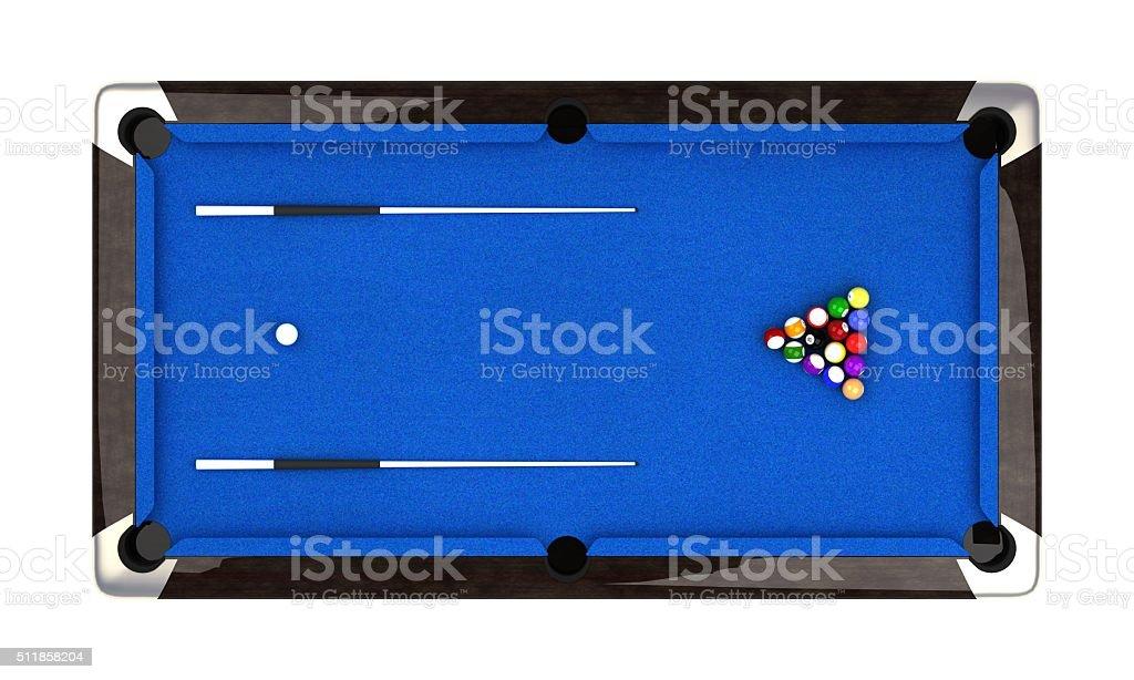 ... Pool Ball Table Stock Photo ...