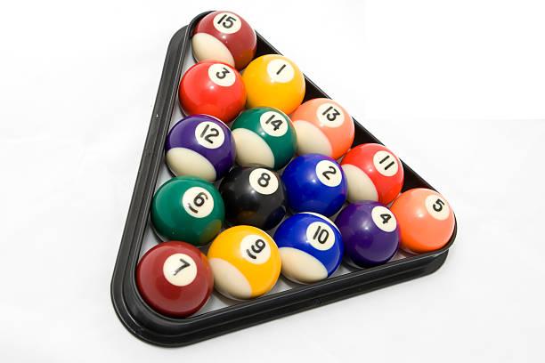 Pool Balls stock photo