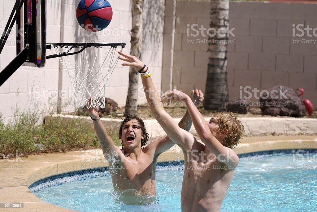 Pool Basketball 2 stock photo