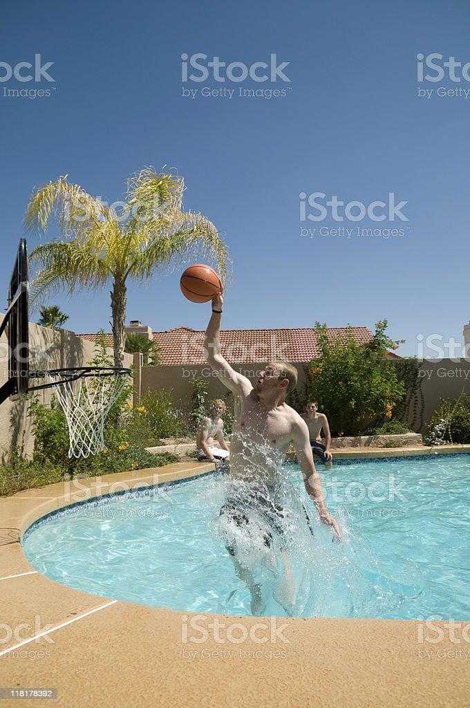 Pool Basketball stock photo