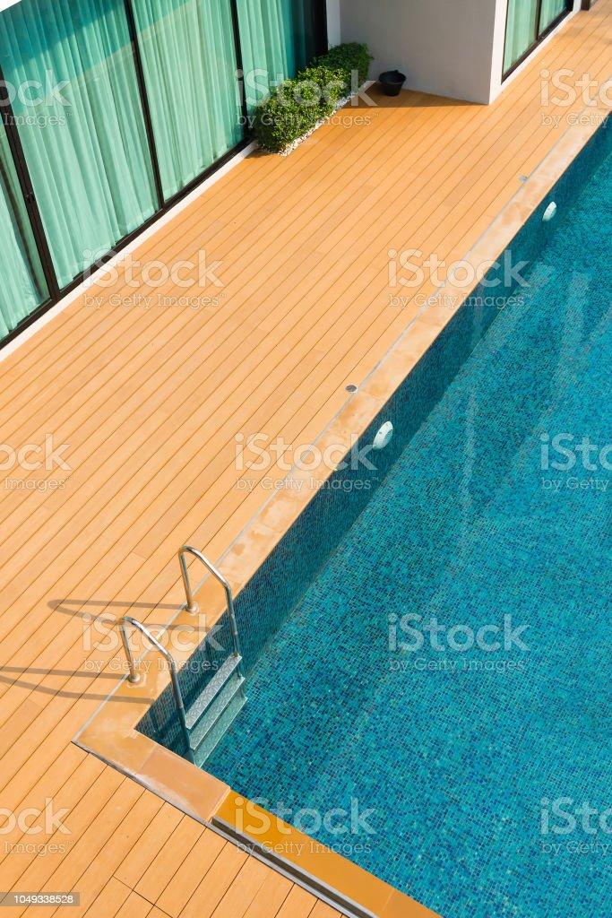 Pool Bett neben dem Schwimmbad – Foto