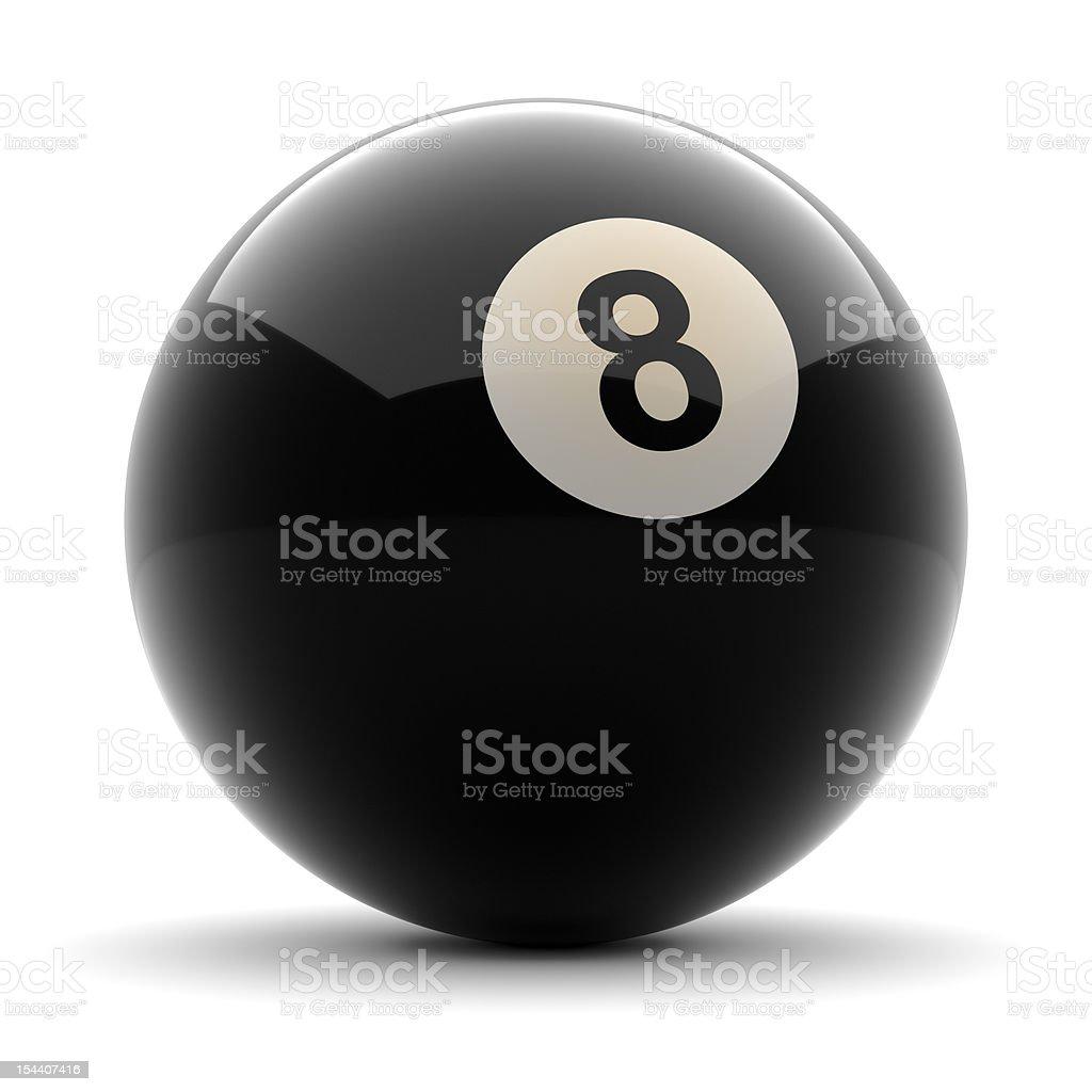 Billiard Schwarze Kugel