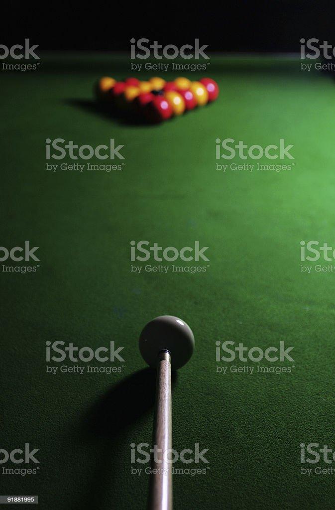 Pool Break royalty-free stock photo