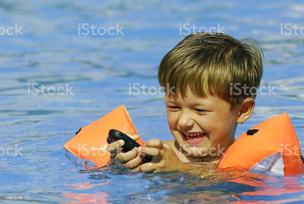 Pool Business royalty-free stock photo