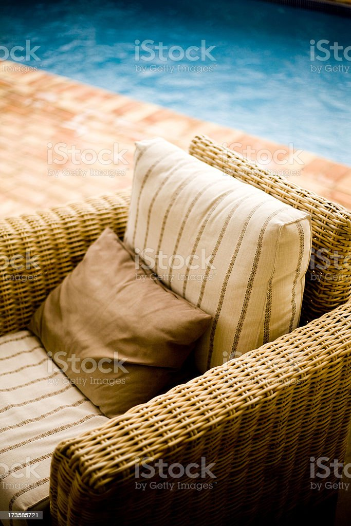 Pool Chair royalty-free stock photo