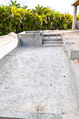 New Swimming Pool construction in southern Florida.