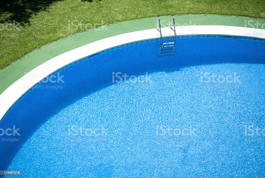 Pool Curve royalty-free stock photo