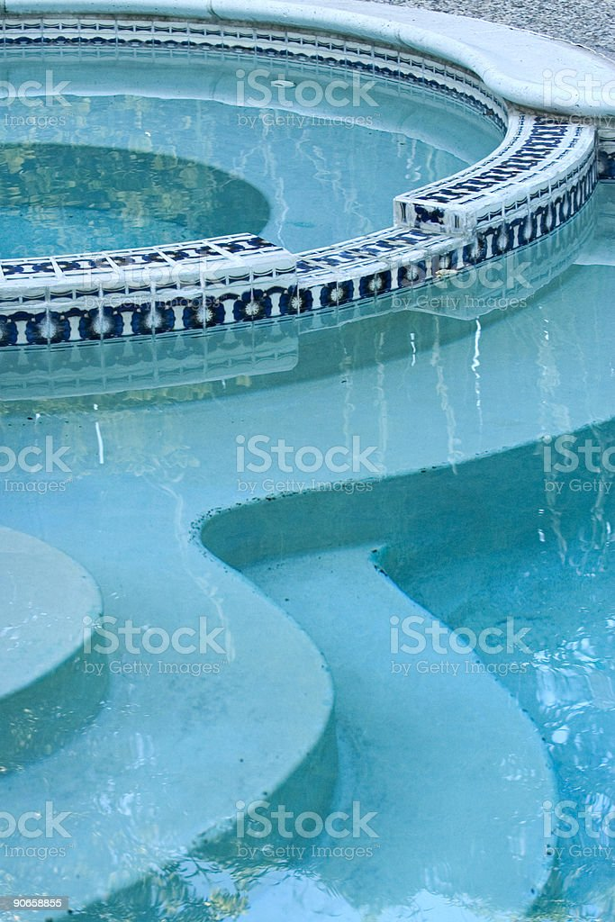 Pool Detail royalty-free stock photo