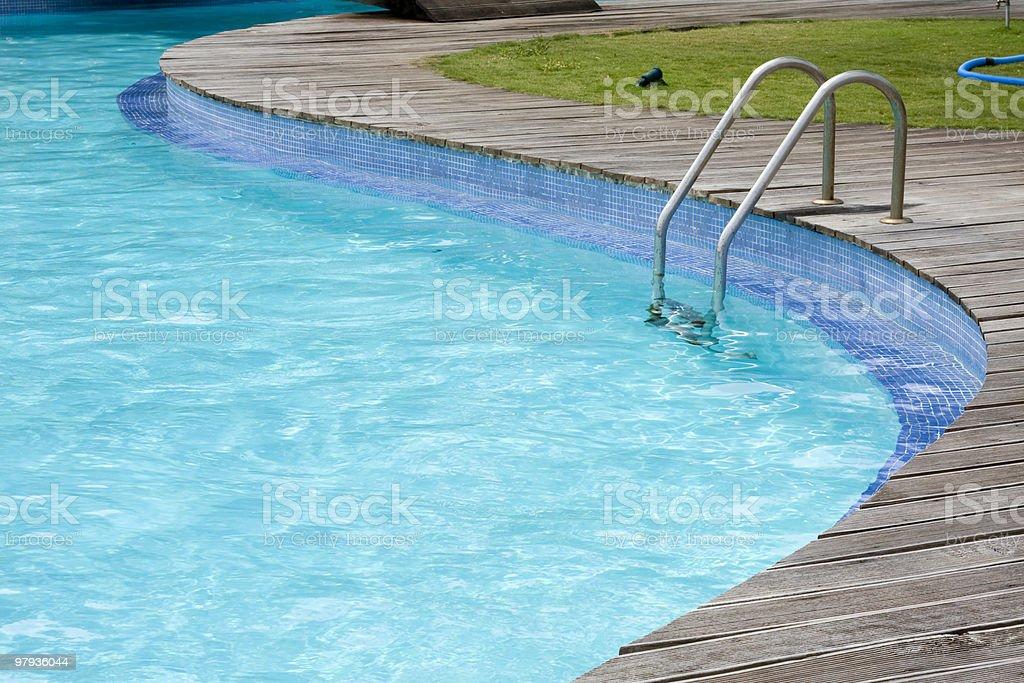 Pool detail royalty-free stock photo