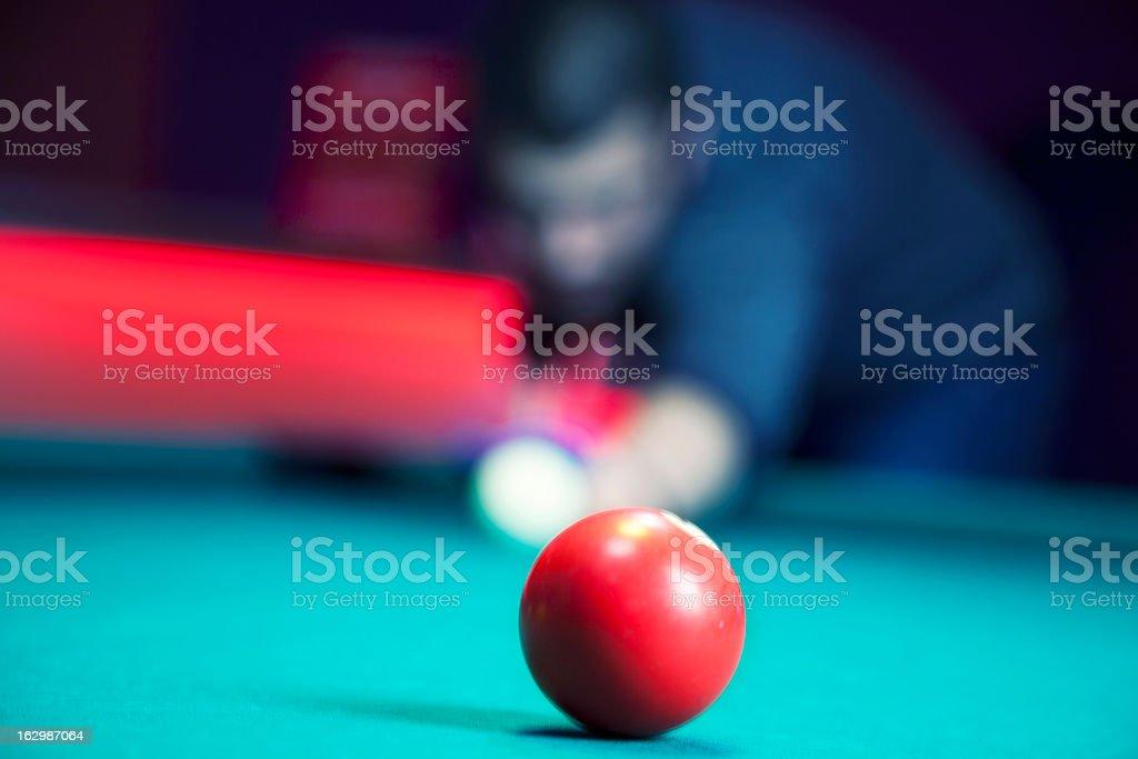 Pool game royalty-free stock photo