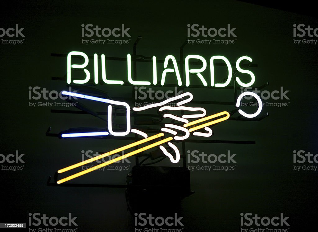 Pool Hall Series: Billiards.
