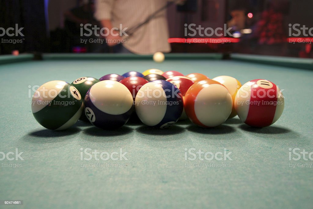 Pool Hall Series: Break.