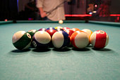 Pool Hall Series: Break.