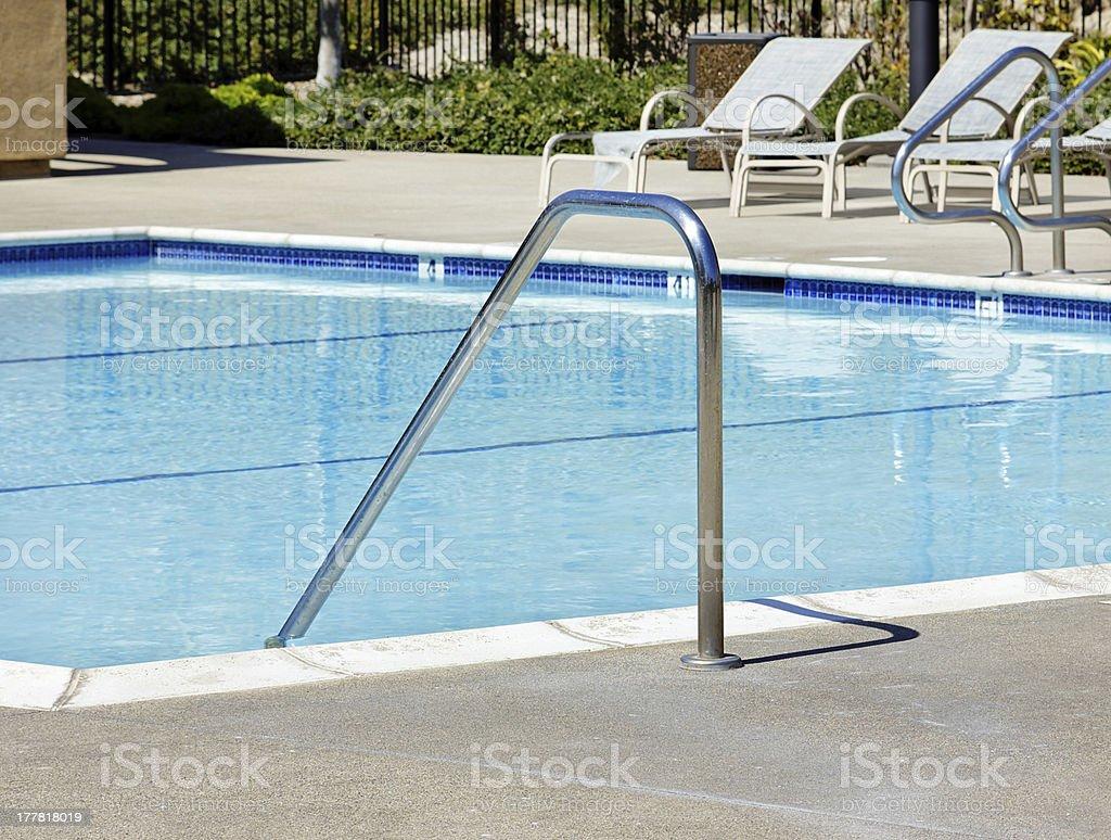 Pool Handles royalty-free stock photo