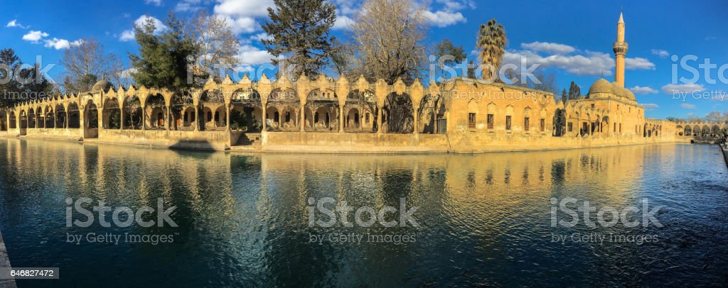 Pool of Abraham stock photo
