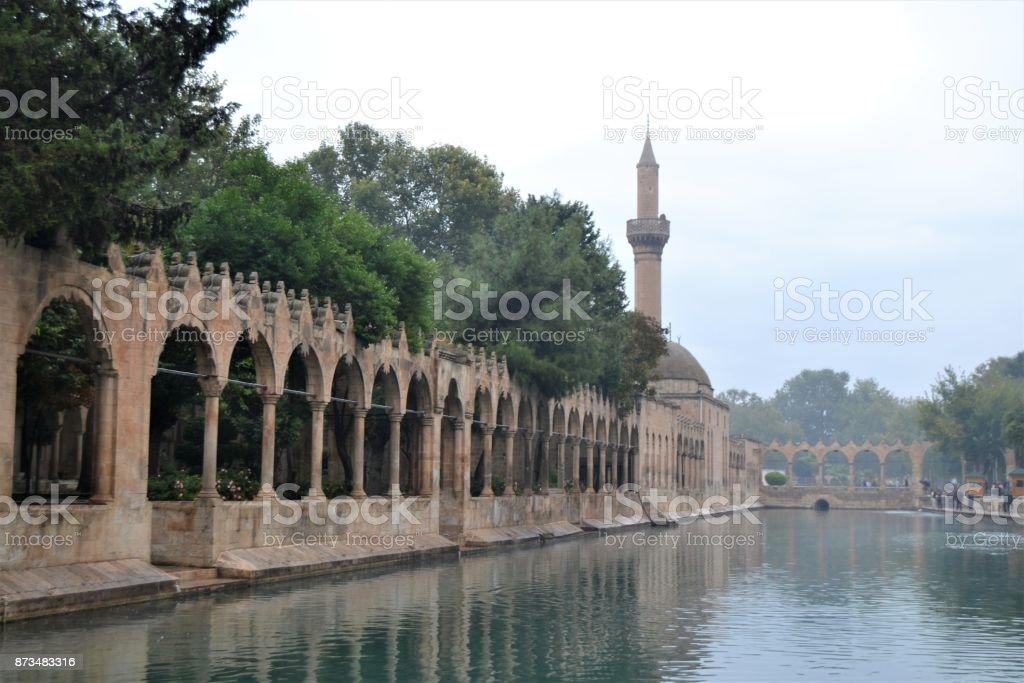 Pool of Abraham (Balikli Göl) : Sanliurfa, Turkey stock photo