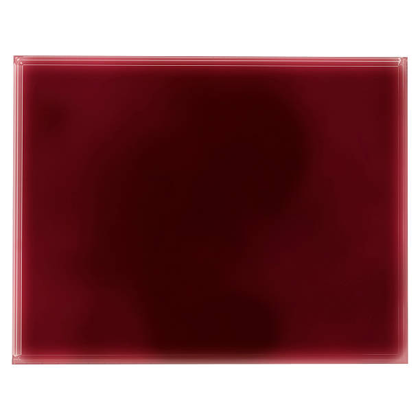 Pool of blood (or wine) shaping Wyoming.(series) stock photo