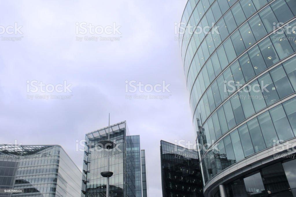 Pool of London stock photo